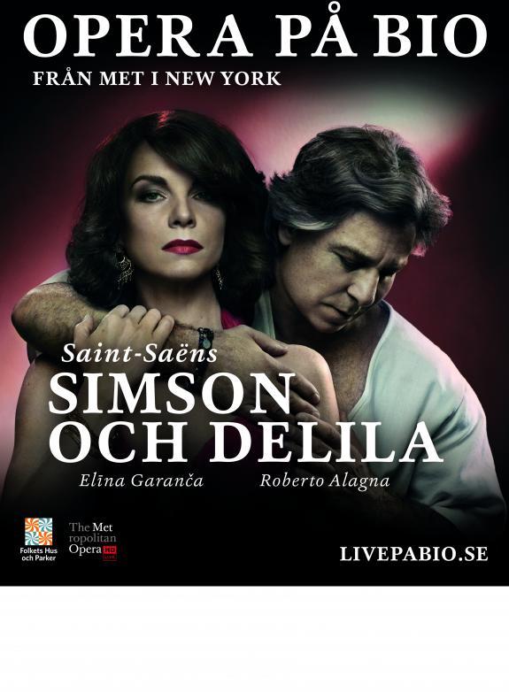 Simson och Delila poster