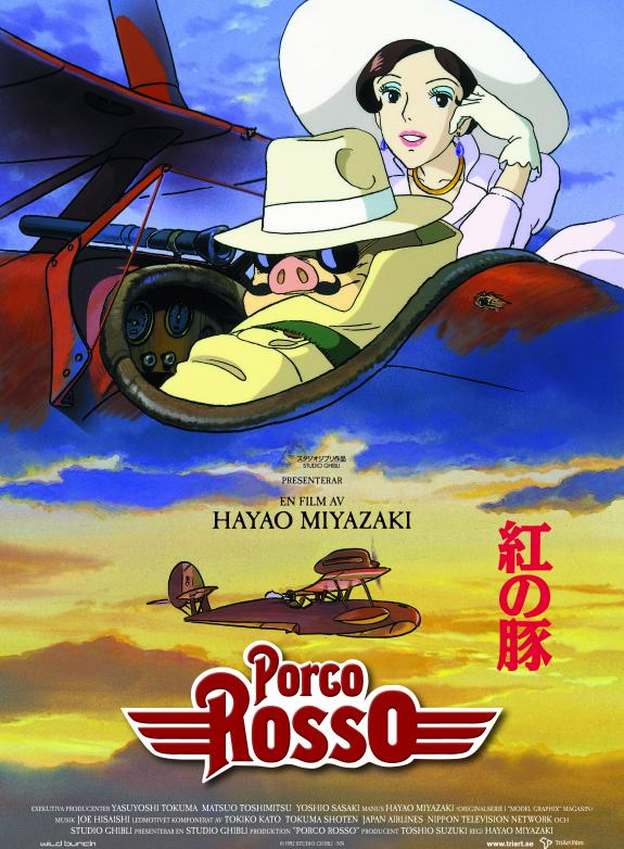 Porco Rosso (Sv. tal) poster