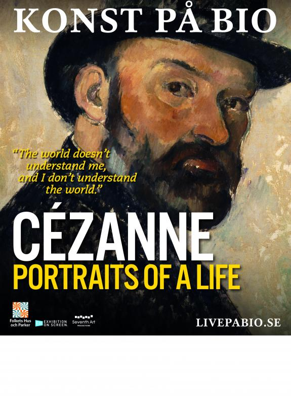 Cézanne - Portraits of a life poster