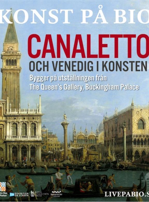 Canaletto och Venedig i konsten poster