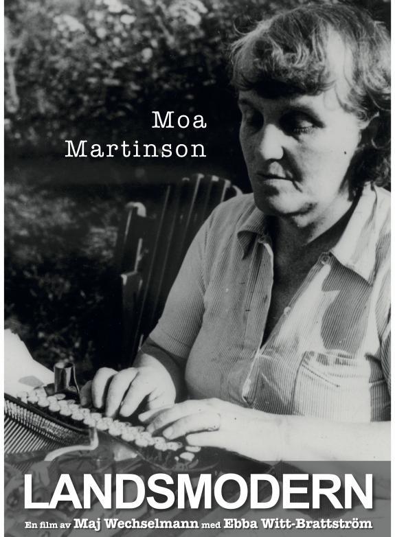 Moa Martinson landsmodern poster