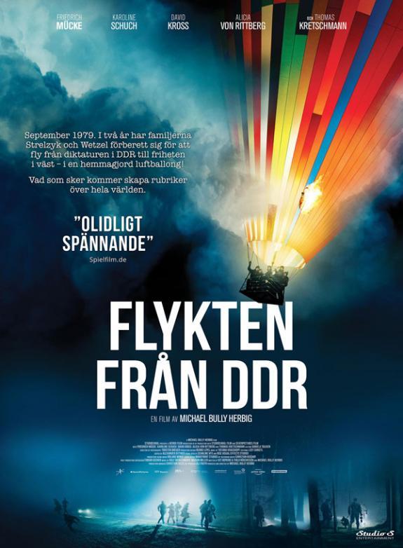 Flykten från DDR poster