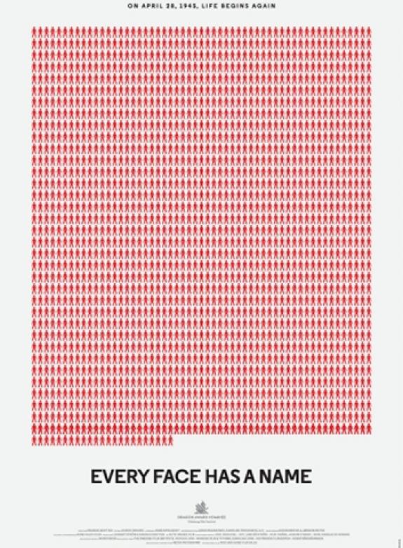 Förintelsens minnesdag 2021: Every Face Has a Name poster