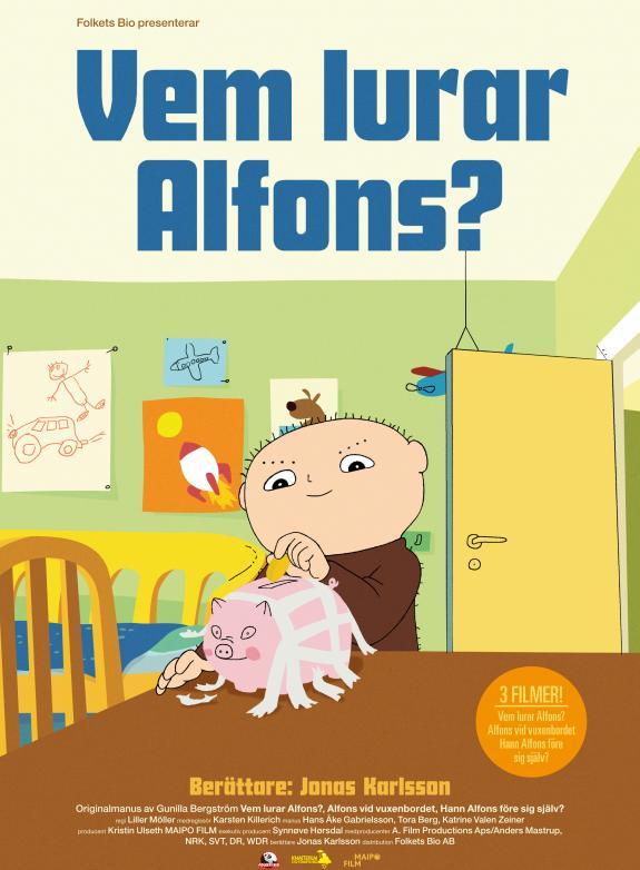 Vem lurar Alfons? poster