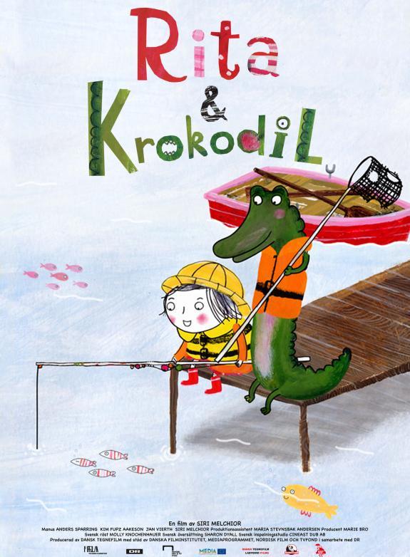 Rita och Krokodil poster