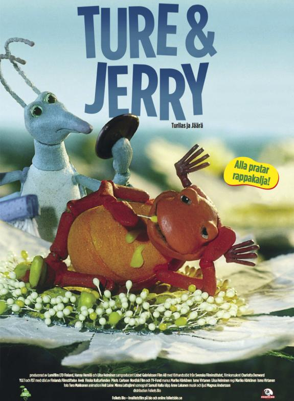 Ture och Jerry poster