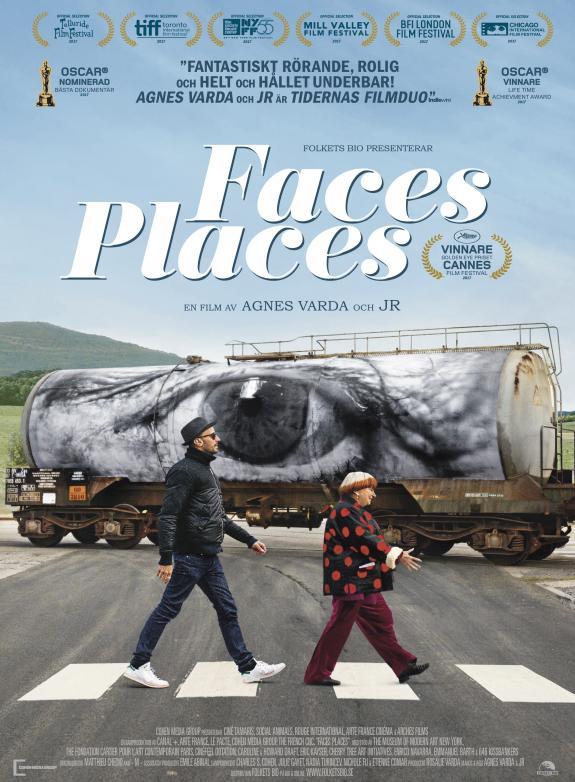 Faces, Places - på resa med Agnès Varda och JR poster