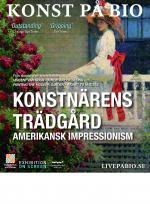 Konstnärens trädgård – amerikansk impressionism poster