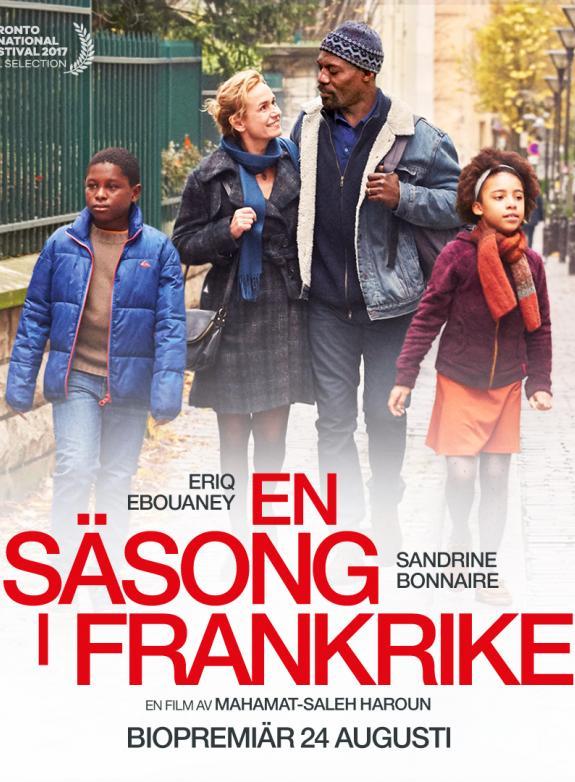 En säsong i Frankrike poster