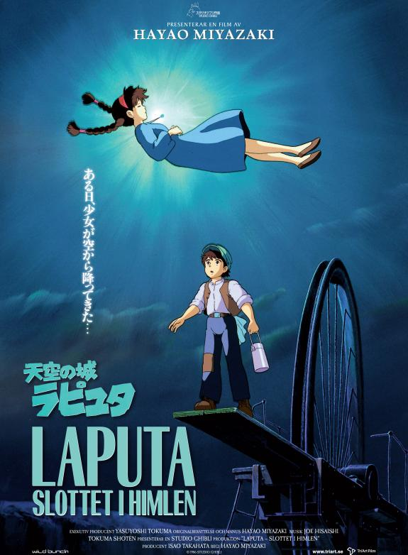 Laputa - Slottet i himlen (Jap. tal) poster