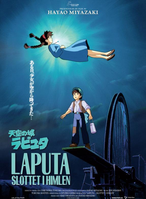 Laputa - Slottet i himlen (Sv. tal) poster