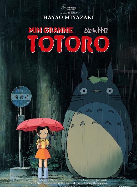 Min granne Totoro (Jap. tal) poster