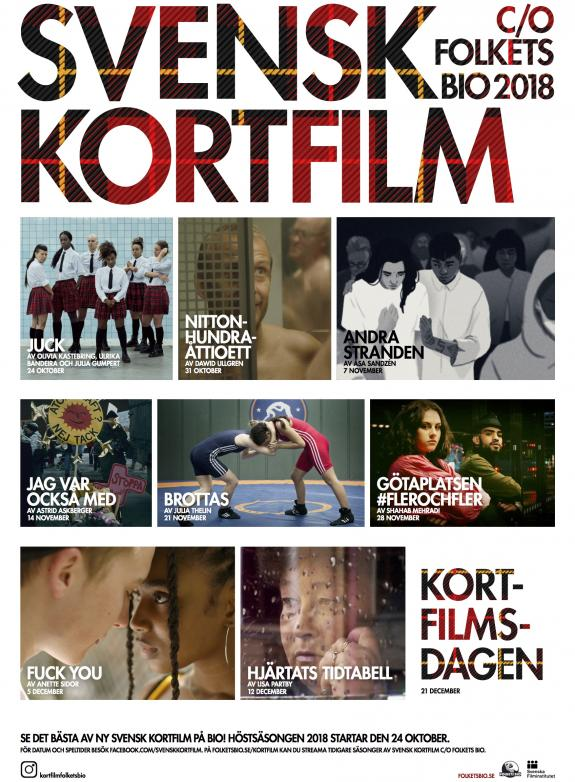 Svensk kortfilm 2018: paket 3 poster