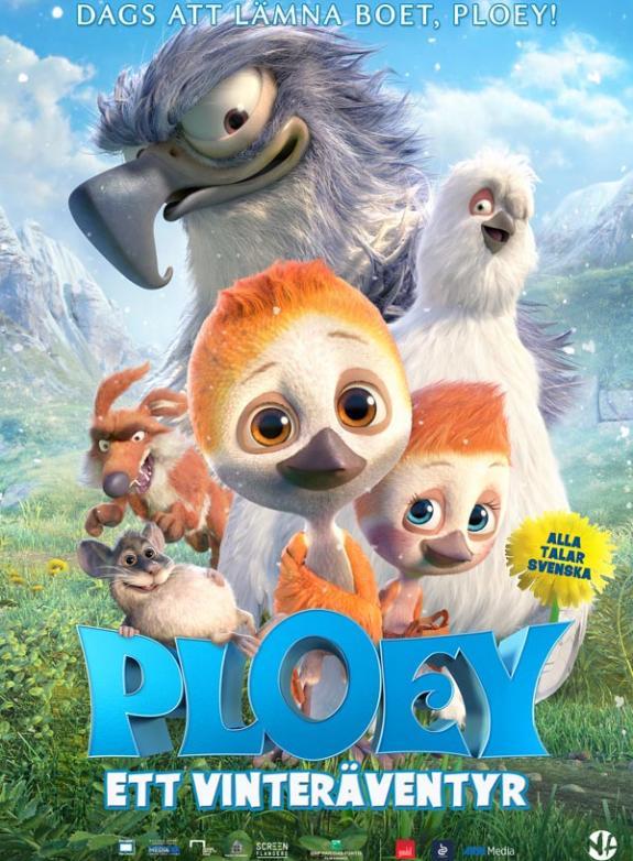 Ploey - Ett vinteräventyr poster