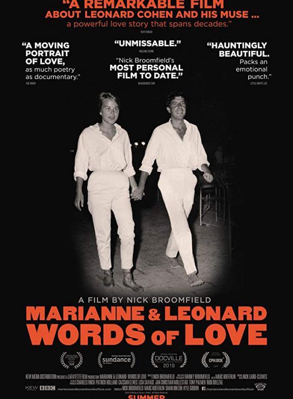 Marianne & Leonard: Words of Love poster
