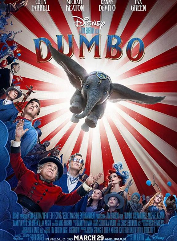 Dumbo (live action) (Sv. tal) poster