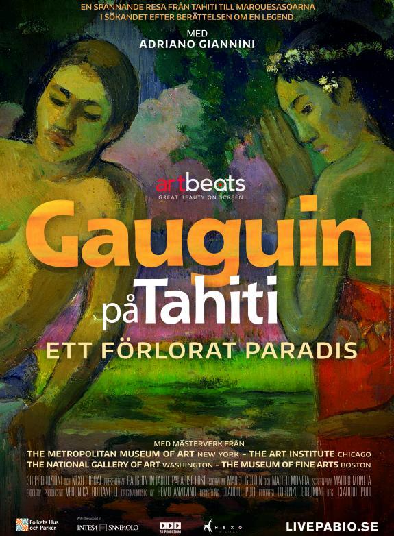 Gauguin på Tahiti - ett förlorat paradis poster