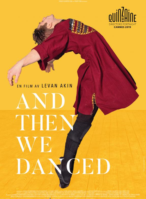 And then we danced (Eng. subtitles) poster