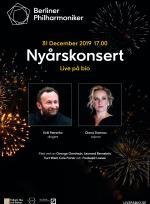 Berlinfilharmonikernas nyårskonsert 2019 poster