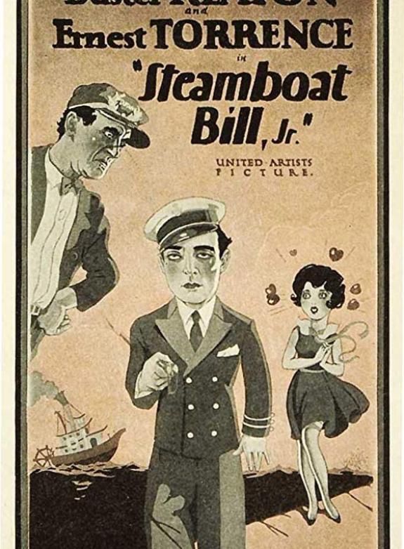 Steamboat Bill, Jr. (Hans son på galejan) poster