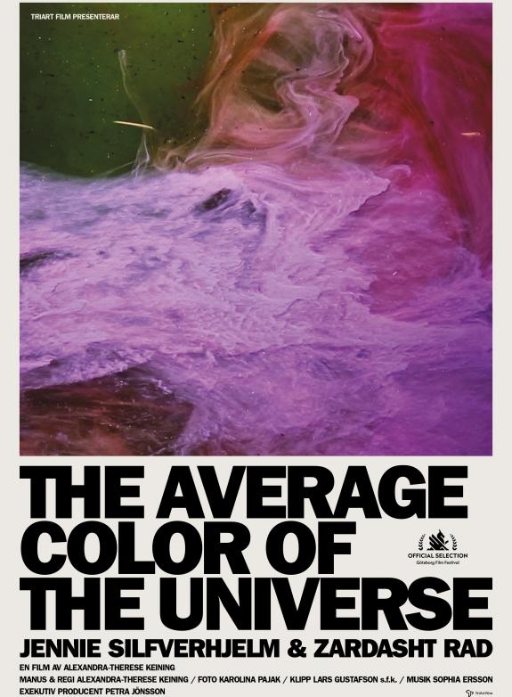 The Average Color Of The Universe poster
