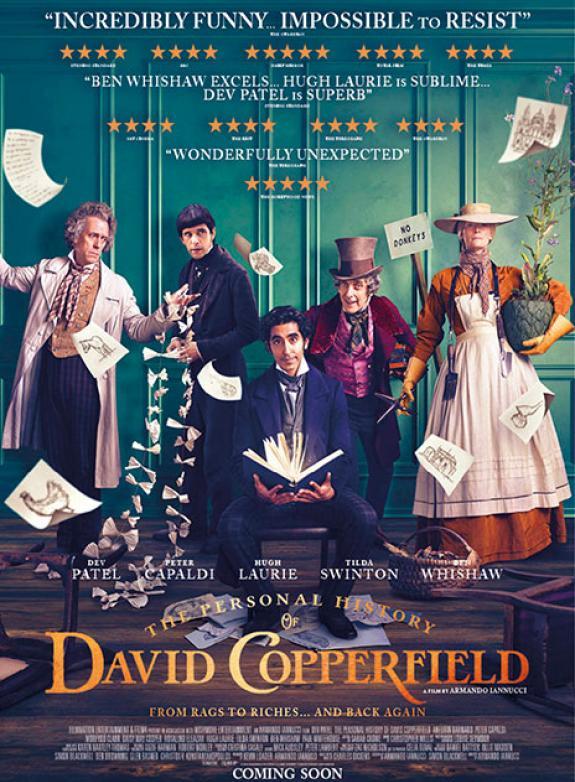 David Copperfields äventyr och iakttagelser poster