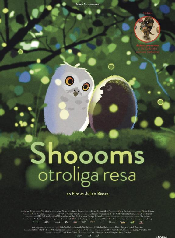 Shoooms otroliga resa + förfilm poster