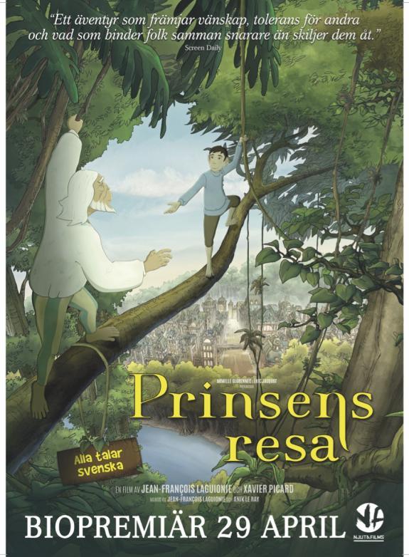 Prinsens resa poster