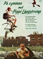 På rymmen med Pippi Långstrump poster