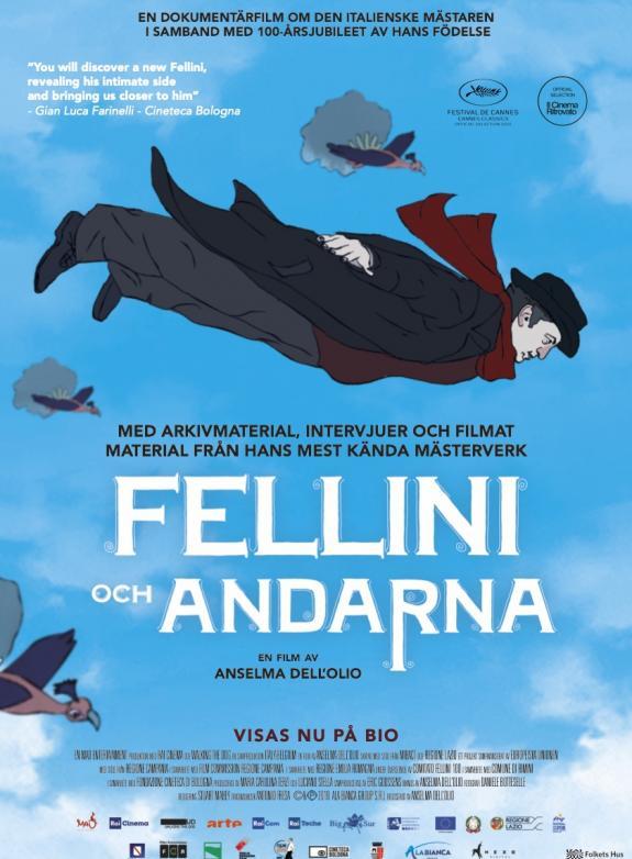 Fellini och andarna poster