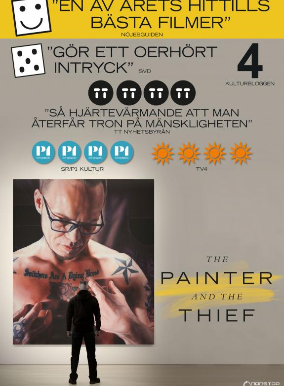 The Painter and the Thief poster
