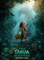 Raya och den sista draken (Sv. tal) poster