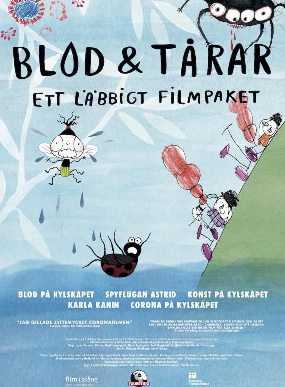 Blod och tårar - ett läbbigt filmpaket poster
