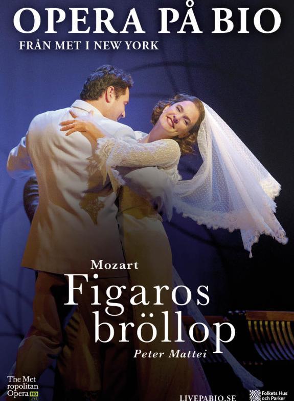 Figaros bröllop poster