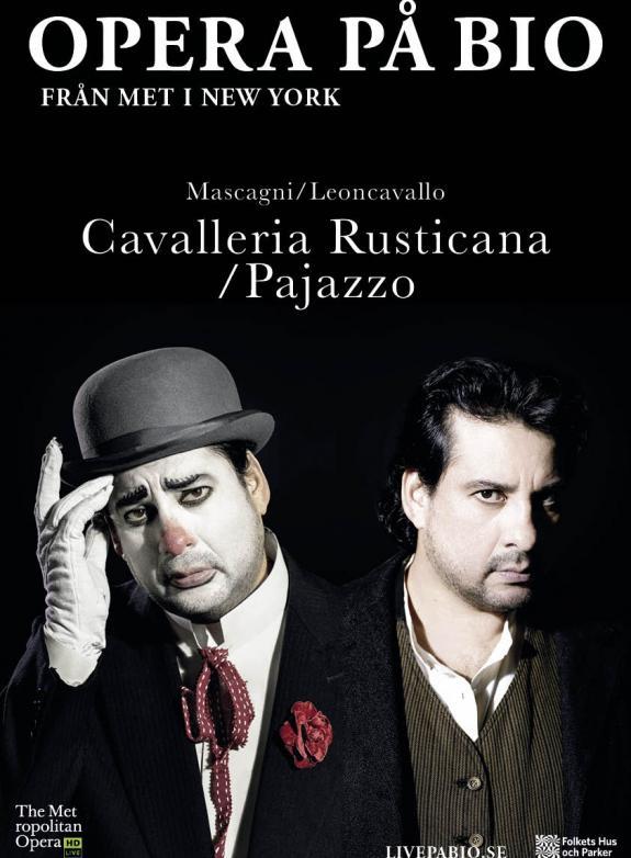 Cavalleria Rusticana/Pajazzo MET poster
