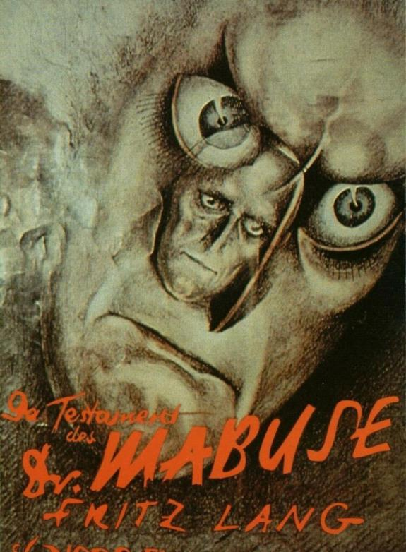 Doktor Mabuses testamente poster