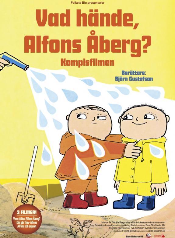 Vad hände, Alfons Åberg? - Kompisfilmen  poster