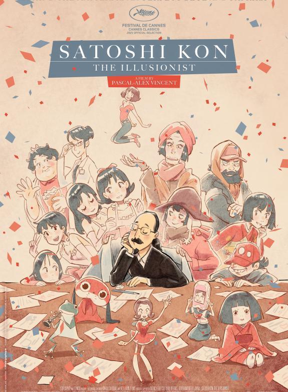 Satoshi Kon, the Illusionist poster