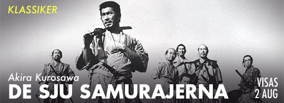 De Sju samurajerna 2 aug